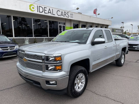 2015 Chevrolet Silverado 1500 for sale at Ideal Cars Broadway in Mesa AZ