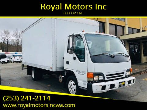 2000 Isuzu NPR for sale at Royal Motors Inc in Kent WA