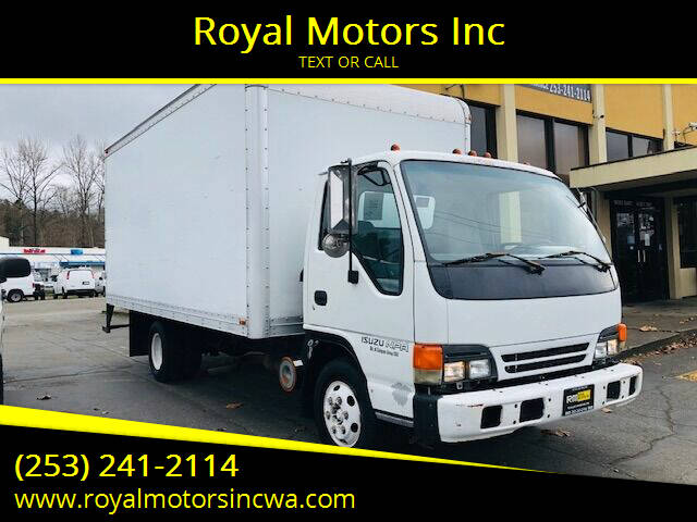 2000 Isuzu NPR for sale at Royal Motors Inc in Kent WA