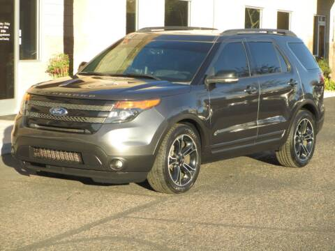 2015 Ford Explorer for sale at COPPER STATE MOTORSPORTS in Phoenix AZ