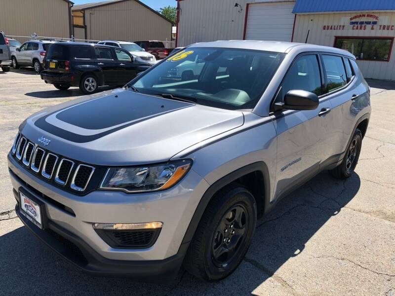 2018 Jeep Compass for sale at Bibian Brothers Auto Sales & Service in Joliet IL