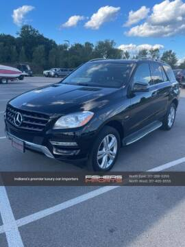 2012 Mercedes-Benz M-Class for sale at Fishers Imports in Fishers IN