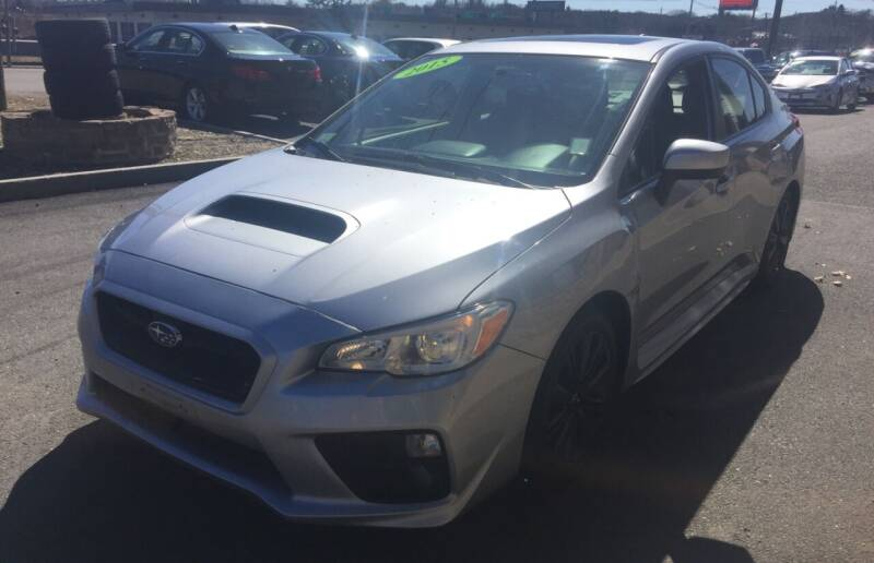 2015 Subaru WRX for sale at 222 Newbury Motors in Peabody MA