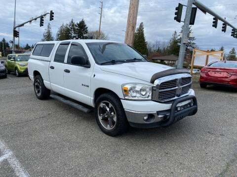 2008 Dodge Ram Pickup 1500 for sale at KARMA AUTO SALES in Federal Way WA