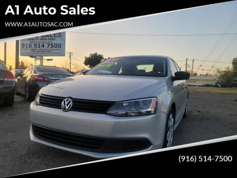 2011 Volkswagen Jetta for sale at A1 Auto Sales in Sacramento CA