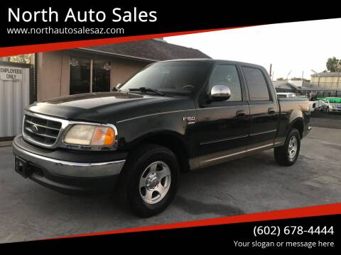 2001 Ford F-150 for sale at North Auto Sales in Phoenix AZ