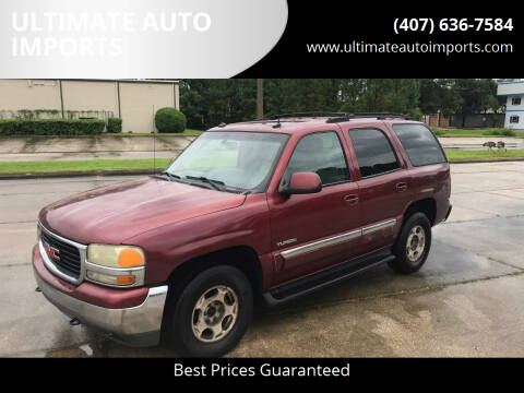 2003 GMC Yukon for sale at ULTIMATE AUTO IMPORTS in Longwood FL