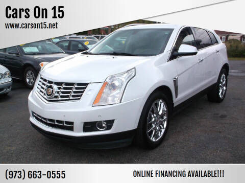 2014 Cadillac SRX for sale at Cars On 15 in Lake Hopatcong NJ