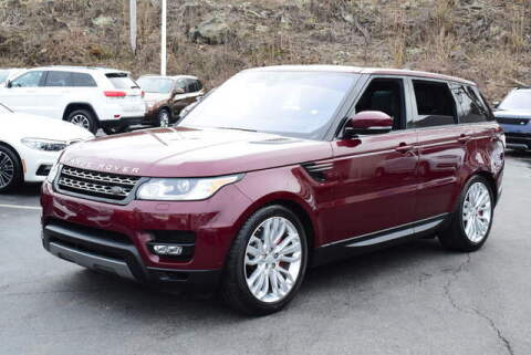 2017 Land Rover Range Rover Sport for sale at Automall Collection in Peabody MA