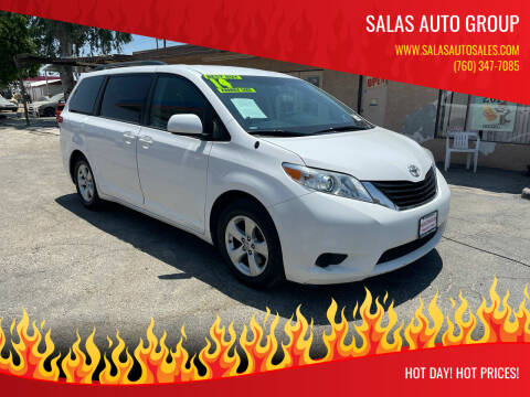 2014 Toyota Sienna for sale at Salas Auto Group in Indio CA
