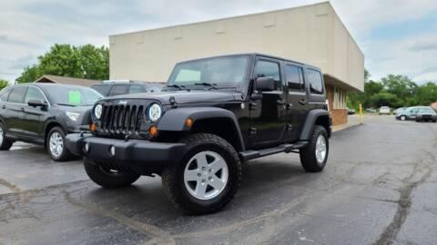2012 Jeep Wrangler Unlimited for sale at Sedo Automotive in Davison MI
