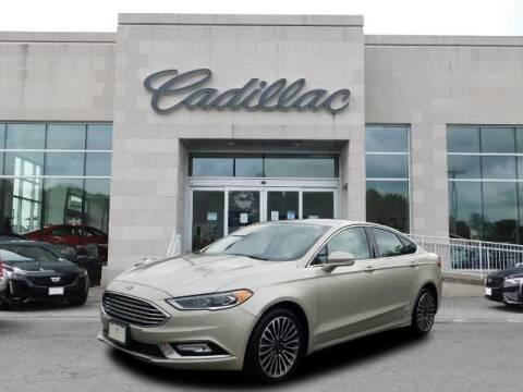 2018 Ford Fusion for sale at Radley Cadillac in Fredericksburg VA