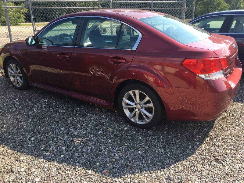 2013 Subaru Legacy for sale at MOORE'S AUTOS LLC in Florence SC