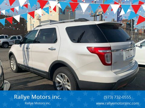 2011 Ford Explorer for sale at Rallye  Motors inc. in Newark NJ