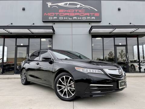 2015 Acura TLX for sale at Exotic Motorsports of Oklahoma in Edmond OK
