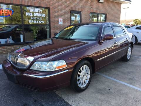 2007 Lincoln Town Car for sale at Bankruptcy Car Financing in Norfolk VA