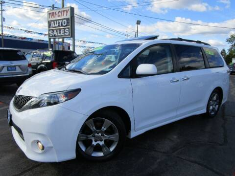 2014 Toyota Sienna for sale at TRI CITY AUTO SALES LLC in Menasha WI