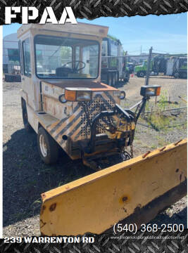 1980 Airport Tug with Snow Plow for sale at FPAA in Fredericksburg VA
