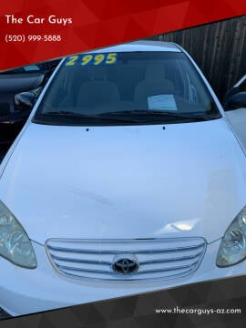 2004 Toyota Corolla for sale at The Car Guys in Tucson AZ