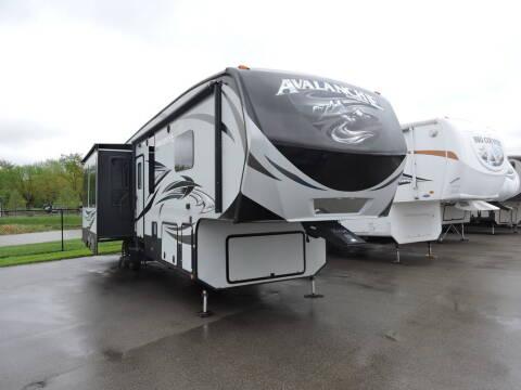2017 Keystone Avalanche 355RK
