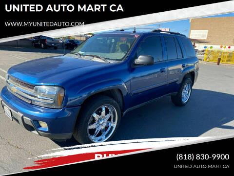 2005 Chevrolet TrailBlazer for sale at UNITED AUTO MART CA in Arleta CA