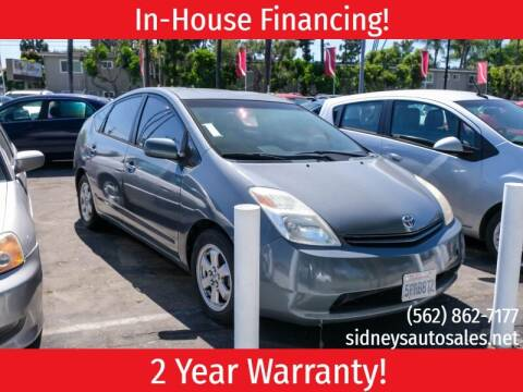 2005 Toyota Prius for sale at Sidney Auto Sales in Downey CA