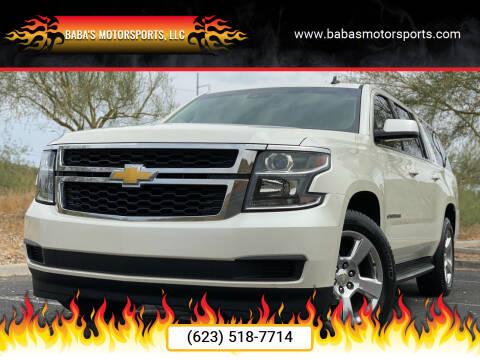 2015 Chevrolet Suburban for sale at Baba's Motorsports, LLC in Phoenix AZ