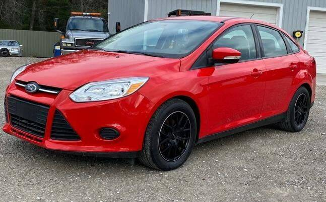 2014 Ford Focus for sale at Hilltop Auto in Clare MI