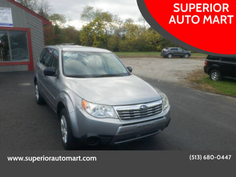 2009 Subaru Forester for sale at SUPERIOR AUTO MART in Amelia OH