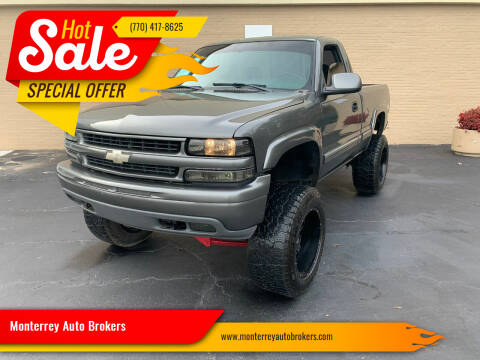 2000 Chevrolet Silverado 1500 for sale at Monterrey Auto Brokers in Decatur GA