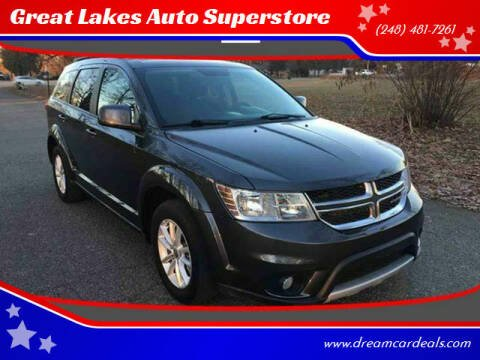 2014 Dodge Journey for sale at Great Lakes Auto Superstore in Pontiac MI