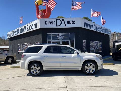 2013 GMC Acadia for sale at Direct Auto in D'Iberville MS
