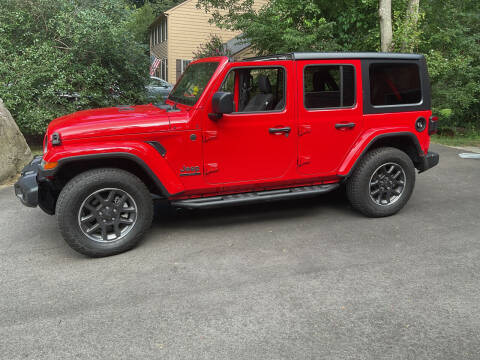 2021 Jeep Wrangler Unlimited for sale at Second 2 None Auto Center in Naples FL