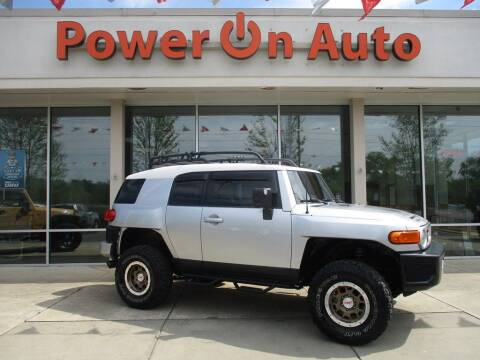 2008 Toyota FJ Cruiser for sale at Power On Auto LLC in Monroe NC