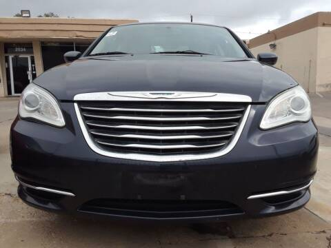 2012 Chrysler 200 for sale at Auto Haus Imports in Grand Prairie TX