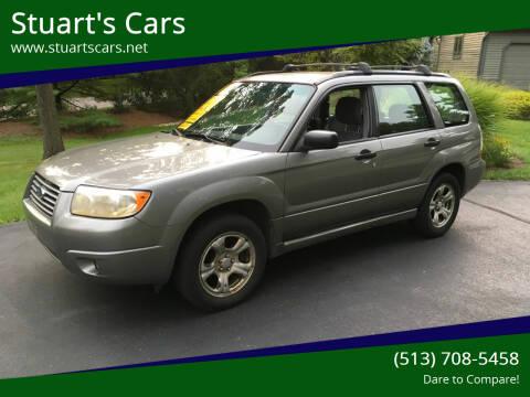 2006 Subaru Forester for sale at Stuart's Cars in Cincinnati OH