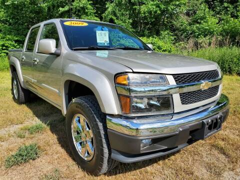 2009 Chevrolet Colorado for sale at Oxford Auto Sales in North Oxford MA