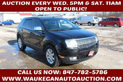 2007 Lincoln MKX for sale at Waukegan Auto Auction in Waukegan IL