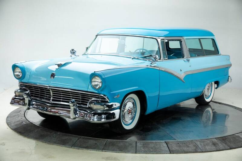 1956 Ford Crown Victoria for sale at Duffy's Classic Cars in Cedar Rapids IA