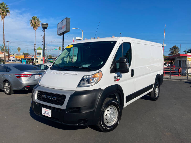 2019 RAM ProMaster Cargo for sale at Pacific West Imports in Los Angeles CA