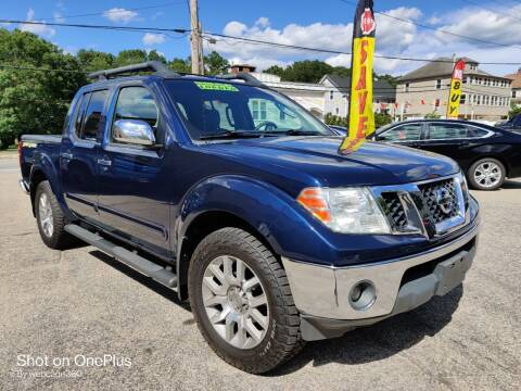 2010 Nissan Frontier for sale at Porcelli Auto Sales in West Warwick RI