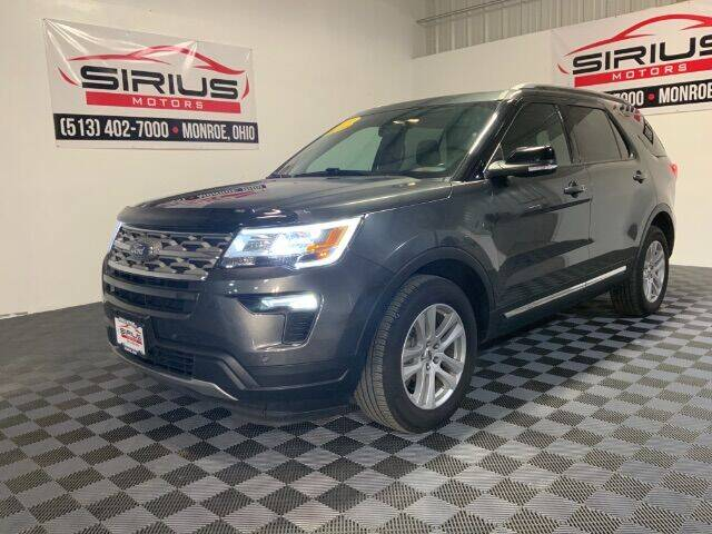 2018 Ford Explorer for sale at SIRIUS MOTORS INC in Monroe OH