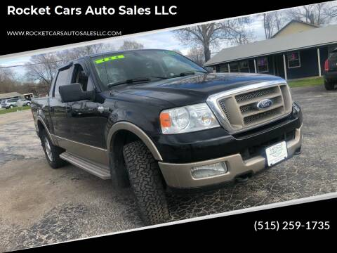 2005 Ford F-150 for sale at Rocket Cars Auto Sales LLC in Des Moines IA