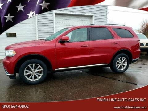 2014 Dodge Durango for sale at Finish Line Auto Sales Inc. in Lapeer MI