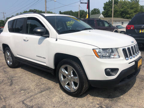 2011 Jeep Compass for sale at COMPTON MOTORS LLC in Sturtevant WI