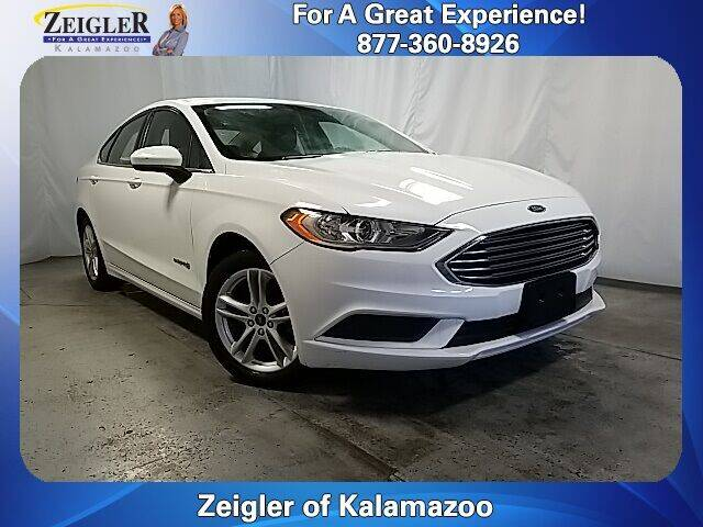 2018 Ford Fusion Hybrid for sale in Kalamazoo, MI