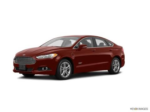 2016 Ford Fusion Energi for sale at Ken Wilson Ford in Canton NC