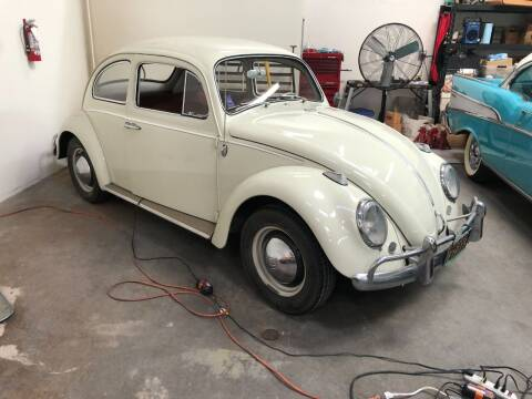 1964 Volkswagen Beetle for sale at HIGH-LINE MOTOR SPORTS in Brea CA