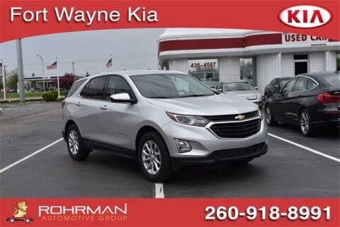 2019 Chevrolet Equinox for sale at BOB ROHRMAN FORT WAYNE TOYOTA in Fort Wayne IN