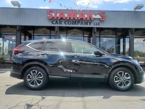 2020 Honda CR-V for sale at Siamak's Car Company llc in Salem OR